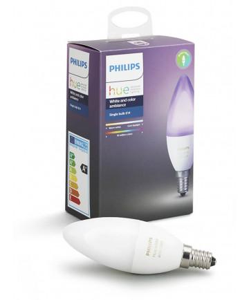 Philips Hue Color E14 LED pære farvet - Gratis levering