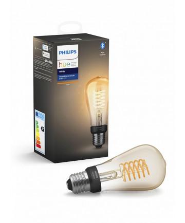 Philips Hue LED pære - E27 Filament Edison - Bluetooth Smart pære