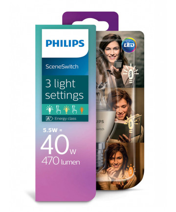 Philips LED Kerte Sceneswitch - 5.5/4/2W