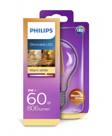 Philips Krone LED - 8W - Dæmpbar