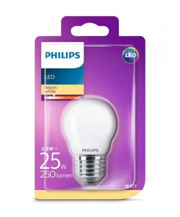 Philips LED Krone Pære - 2.2W