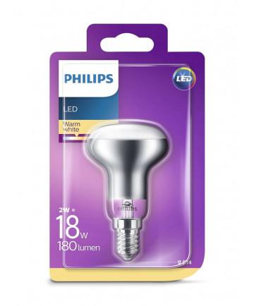 E14 - Philips LED Reflektor - 2W