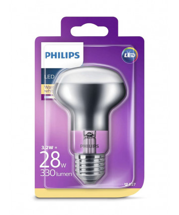 E27 - Philips LED Reflektor - 3.2W