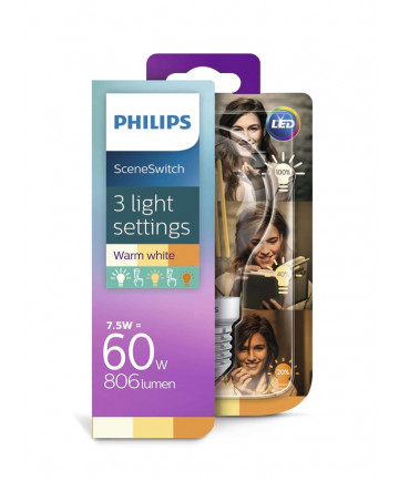 Philips SceneSwitch LED - 7.5W
