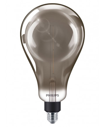 Philips Vintage Dråbe LED - 6.5W (Smoky)