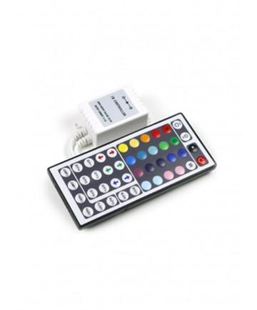 RGB Lysdæmper - Fjernbetjening med 44 knapper