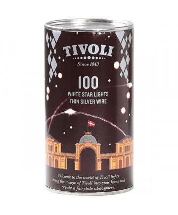 Tivoli LED Lyskæde - Sølv - 10m - 230V