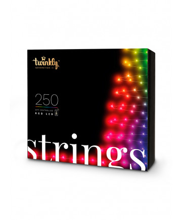 Twinkly Strings Lyskæde - Farvet lys - 8 m - 100 Lys