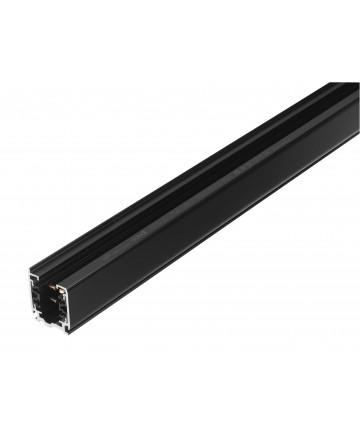 GLOBAL 3-Faset XTS4100-2 - Skinne 1 meter - Sort