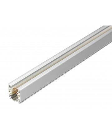 GLOBAL 3-Faset XTS4200-3 - Skinne 2 meter - Hvid