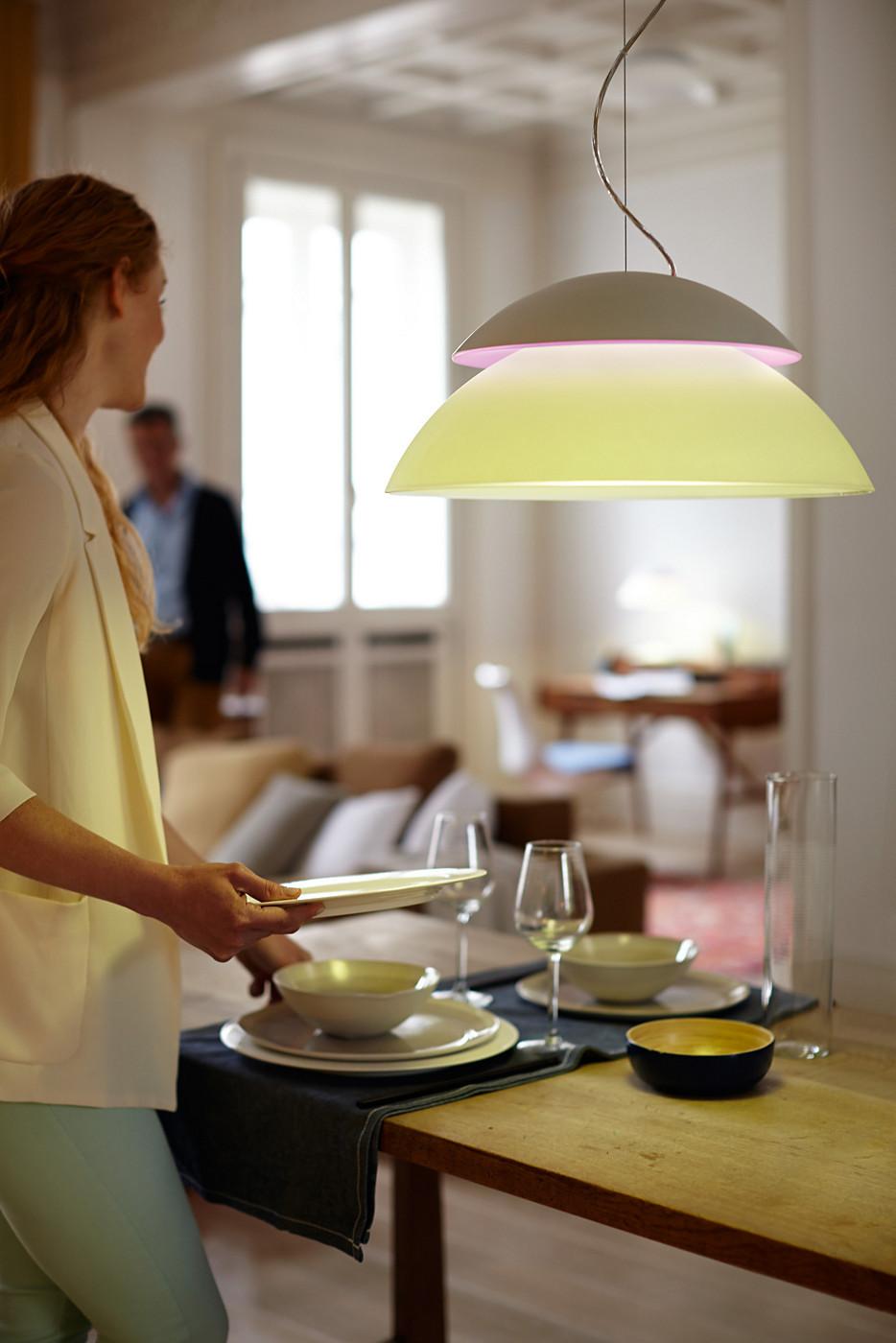 philips hue pendel. Black Bedroom Furniture Sets. Home Design Ideas