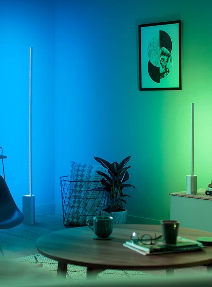Philips Hue Signe Gulvlampe Bt Dioder Online Dk