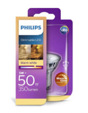 GU10 - Philips LED Spot - 3.8W - Warm Glow - CRI>90