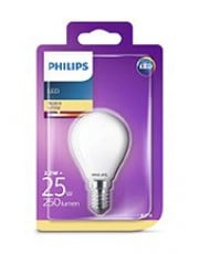 E14 - Philips LED Krone Pære - 2.2W