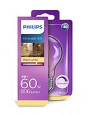 E27 - Philips Classic LED Pære - 8W