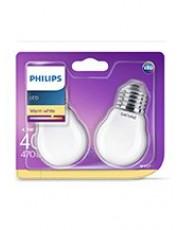 E27 - Philips Krone LED - 4,3W - 2-pack