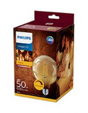 LED Globepære - Philips Flame - 12.5cm - Dæmpbar