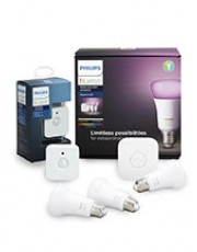 E27 - Philips Hue Farvet Starter Kit - Black Friday + Sensor