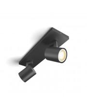 Philips Hue Runner 2-Spot - Sort - Uden Bluetooth