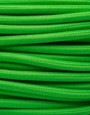 Neon grøn stofledning