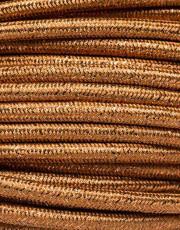 Guld glimmer stofledning