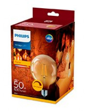 E27 - Philips LED Pære 8W - 630lm