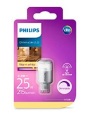 G9 - Philips LED Stiftpære 2.3W - 215lm