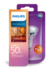GU10 - Philips LED Spot - 5W - Warm Glow