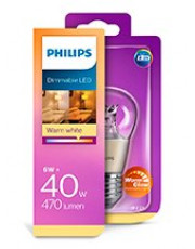 E27 - Philips LED Pære 6W - 470lm