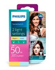 GU10 - Philips SceneSwitch LED Spot 5W - 2700/4000K