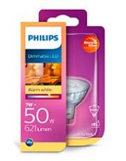 GU5.3 - Philips Warm Glow LED Spot 7W - 621lm