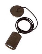 Calex retro pendel - Antik Bronze - E40