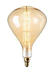 Calex XXL Sydney LED lampe - Gylden - 8W