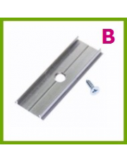 Samlingsbeslag til aluminiumslister