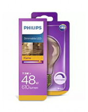 E27 - Philips Classic LED Pære - 7.5W