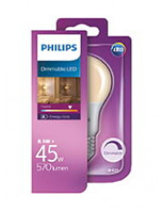 E27 - Philips LED Classic Pære - 8.5W