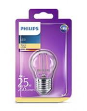 E27 - Philips LED Kronepære - 2W