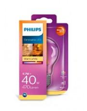 E27 - Philips LED - 6.7W - Warm Glow (Dæmpbar)