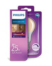 E27 - Philips LED Classic Pære - 6W