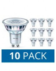 GU10 - Philips LED Spot - 4.6W - 10-pack - 3000K
