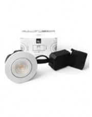 HiluX D5 indbygningsspot - inkl. Ra95 LED lyskilde