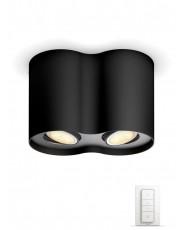 Philips Hue Pillar - 2-Spot - Sort - Uden bluetooth