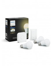 E27 - Philips Hue White Starter Kit - Uden BT