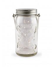 Tivoli LED Glas Lanterne - Klar glas