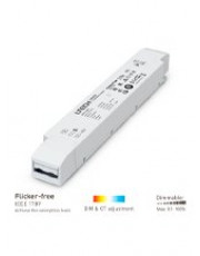 Triac LED Driver - 75W - 24V m. PUSH dæmp - NY 2020 model