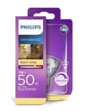 MR16 - Philips LED spot - 7W (dæmpbar)