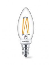 E14 - PHILIPS Kerte LED - 3.5W - WGD - CRI>90