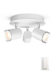 Philips Hue Adore - Rund Triple Spot - IP44
