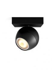 Philips Hue Buckram 1 spot - Sort - U. Bluetooth
