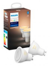 Philips Hue White Ambiance LED spot - GU10 2-pack - BT